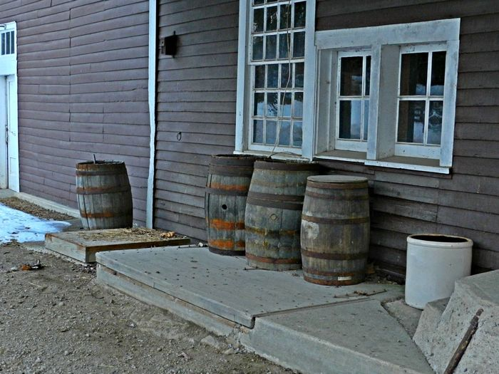 Barrels at the Mill Barrel Barrel Art Barrels Building Day Deterioration Empty Few Hold Michigan Mill No People Old Outdoors Rusted Rusty Saline Saline Mill Storage Western Whisky Window Wood Wood - Material The Street Photographer - 2016 EyeEm Awards