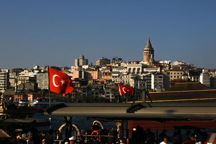 Cityscape Travel Destinations Outdoors City Life Lifestyles Istanbul Turkey Istanbuldayasam Galata Galata Tower GalataSaray Fish Fishing Sunset Sunset_collection Red Red Color Evening Türkiye Evening Sky Landscape EyeEm Best Shots Traveller Travel Copy Space Building Crowd