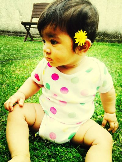 My baby Alysha