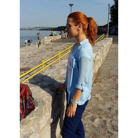 Dunav Zemun Kej Dunavskikej instagram ig_zemun serbia instasun ginger serbia srbija fashion style