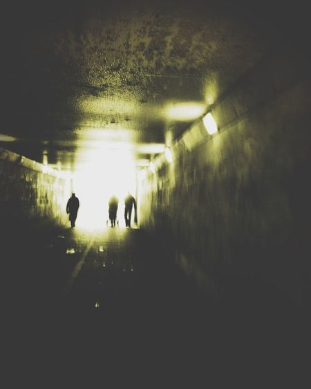 There's always light at the end of the tunnel • IPhoneography Mobile Photography Street Life StreetsWithPeople