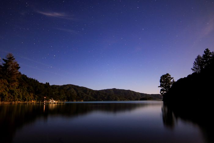 Water Reflections Enjoying Life Lights And Shadows Pure Beauty South Island Natural Beauty Beauty Nature Sounds Marlborough Sounds Star - Space Scenics - Nature Night Astronomy Space Sky Lake Water Tree Beauty In Nature Tranquil Scene Galaxy Tranquility Star Star Field Reflection Idyllic Nature No People