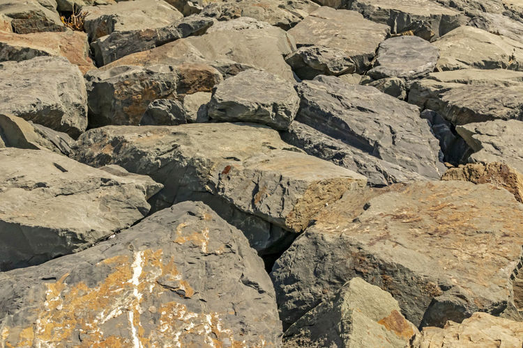 rocks and