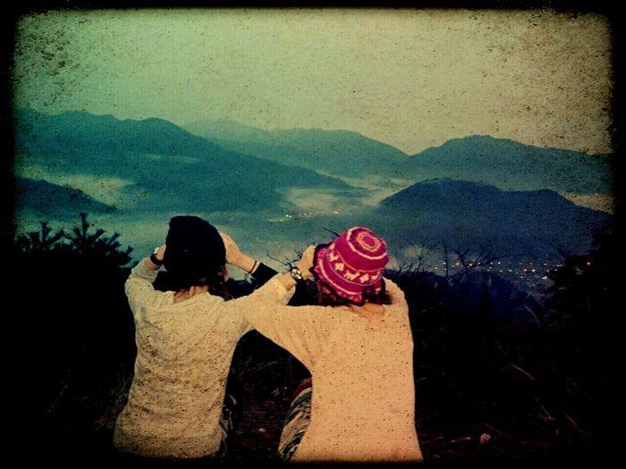 武田城武田城…見えた事にしとこ(笑)🏯☁Enjoying Life Memorys  Mountain Hiking Mountain Natural 武田城雲海