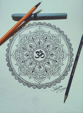 Mandala Lotus Flower Omn Drawing Sketch Art Blackandwhite Tattoo