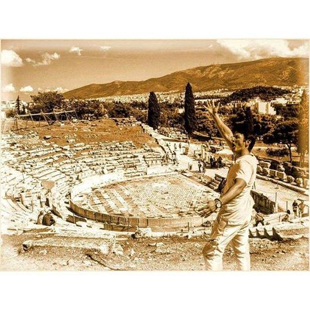 TheTheatre of Dionysus Eleuthereusis a major open-airtheatreand one of the earliest preserved inAthens. It was used for festivals in honor of the godDionysus. Greece Ελλάδα Athens Αθηνα Whitecity Atina VisitGreece Instagreece Instaathens Amazing Construction Greekarchitecture Ancient Theatre Old Architecture Oldarchitecture Acropolis Historicalplaces