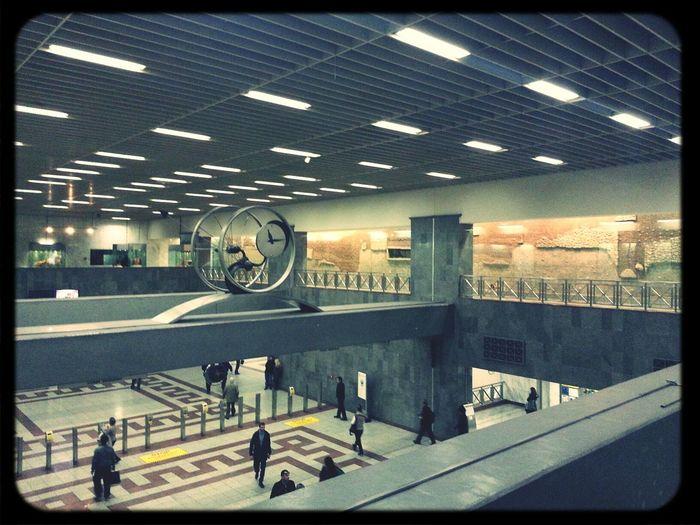 Metro Station Athens Πλατεία Συντάγματος Syntagma Square