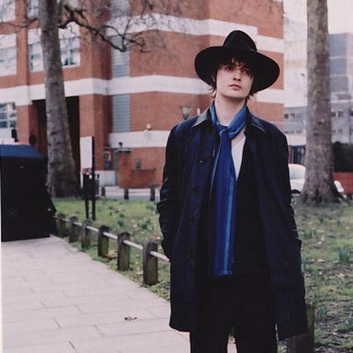 The poet Pete Doherty