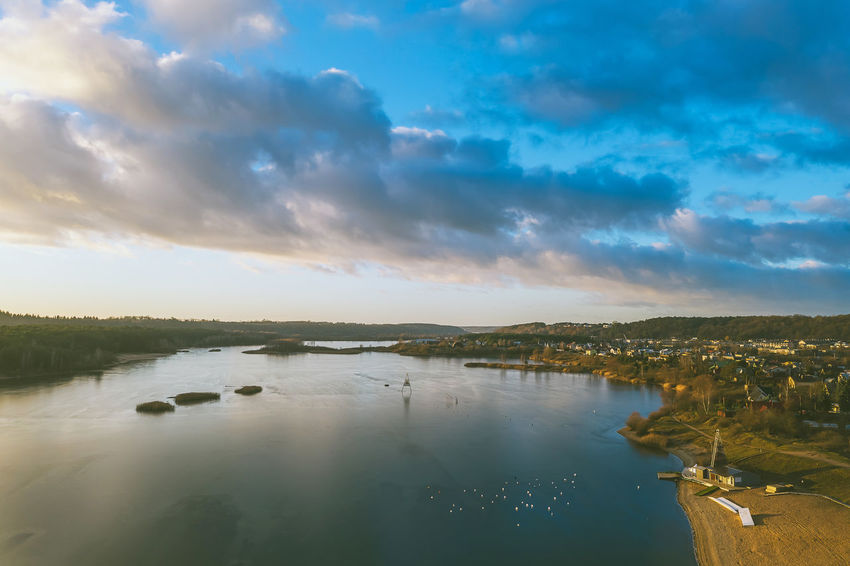 Lake Europe Lithuania Lietuva Drone  Lake Cloud - Sky Water Sky Beauty In Nature Scenics - Nature Tranquil Scene Tranquility Nature Reflection No People Non-urban Scene Idyllic Waterfront Outdoors Building Exterior Landscape Mavic 2