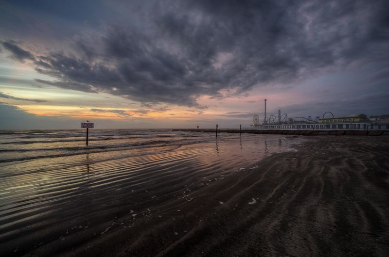 Thursday, December 18, 2014 AM... Galveston Texas Notes From The Underground Shootermag Landscape_Collection Sunrise Beachphotography Beautiful Nature Hdr_Collection Cloudporn The KIOMI Collection