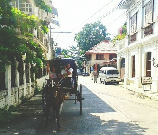 our trip to vigan Eyeem Philippines Eyeem Photography Rickshaw Places I've Been Traveling