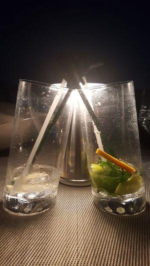Liquid No People Close-up Cocktails Banyan Tree Hotel Vertigo & Moon Bar Slanted Glasses Drinks