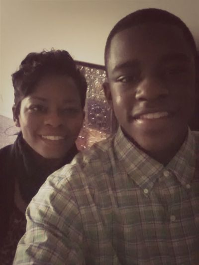me and my mama earlier