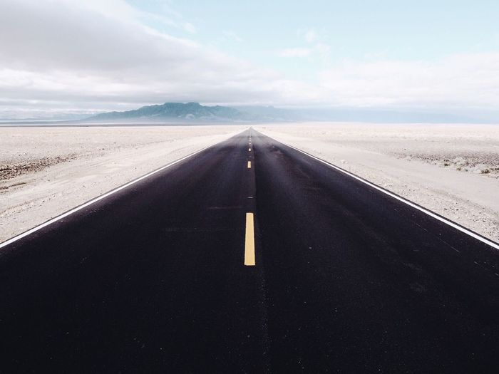 Death Valley road Road Roadtrip Straight Straight Lines Desert Background Up Diminishing Perspective No People Outdoors Asphalt Landscape The Way Forward Transportation Way One Way Pedal To The Metal EyeEmNewHere
