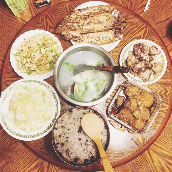 Food And Drink Food Healthy Eating Bowl Plate Freshness Ready-to-eat Table No People Close-up Dinner Dinner Time Taiwanese Food Family Time Roundtable Taiwan Style Place Of Heart