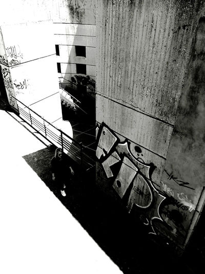 Brazil III Sunlight Light And Shadow High Contrast Lightroom Mobile Urbanphotography Urban B&w Noir Et Blanc Blackandwhite Black And White Noir City Thessaloniki Architecture Close-up Built Structure Focus On Shadow Shadow Building Long Shadow - Shadow Exterior