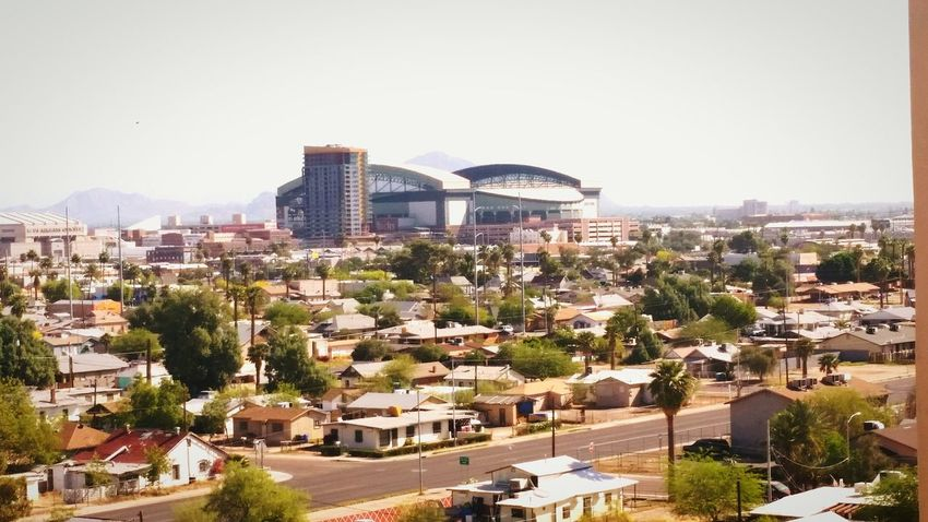 Chase Field from the South. Baseball Arizona Cityscapes