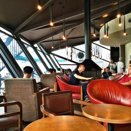 Starbucks IPhoneography Traveling EyeEm China First Eyeem Photo Light And Shadow Enjoying Life People China View