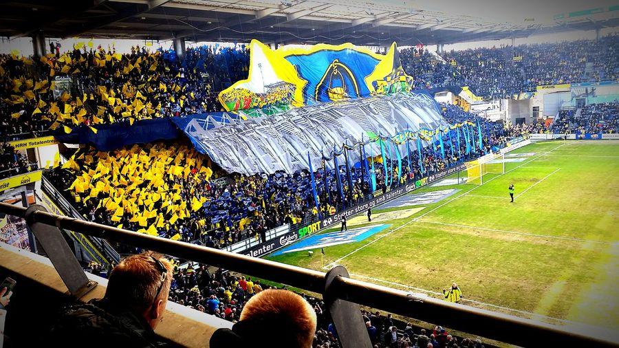 Brøndby If Derbyday Tifo