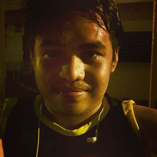Fresh from shower or from Jog Exercise Fitness HealtyLifestyle