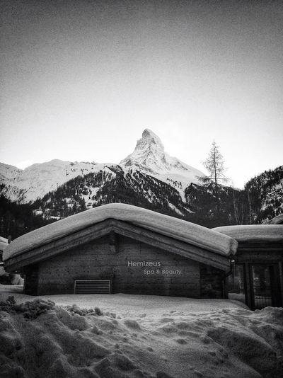 The Matterhorn Zermatt Switzerland Hemizeus Black And White