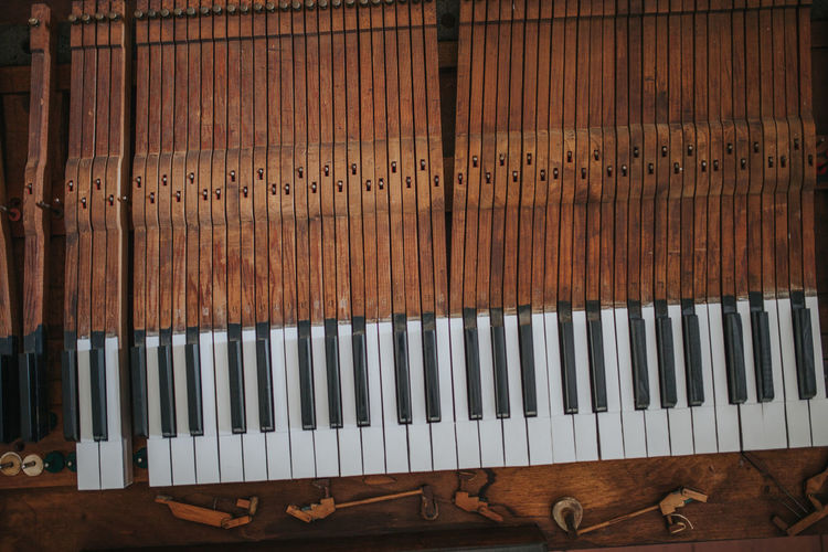Piano Piano Keyboard  Piano Lover Piano Moments Wood Arts Culture And Entertainment Brown Close-up Full Frame High Angle View Keyboard Keyboard Instrument Music Musical Equipment Musical Instrument Pattern Pianist Piano Piano Key Piano Keys Piano Parts Piano Time Wood - Material Wood Grain