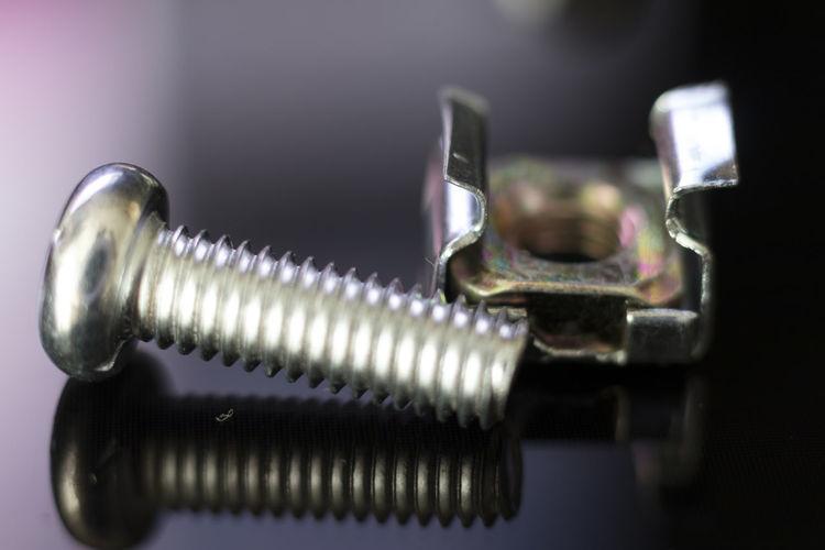 tornillo y tuerca Industry Metal Metallic No People Nut Technology Tornillo  Tuerca