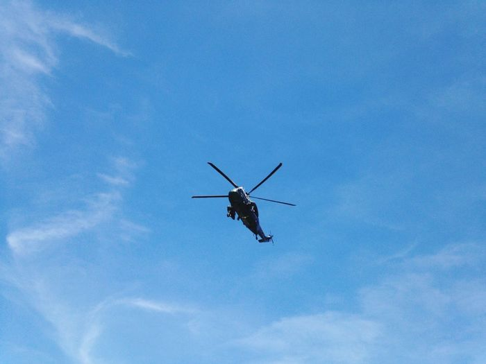 Helicopter Mr. President  Blue Sky
