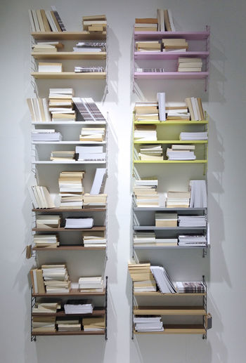 Books In Shelves At Home