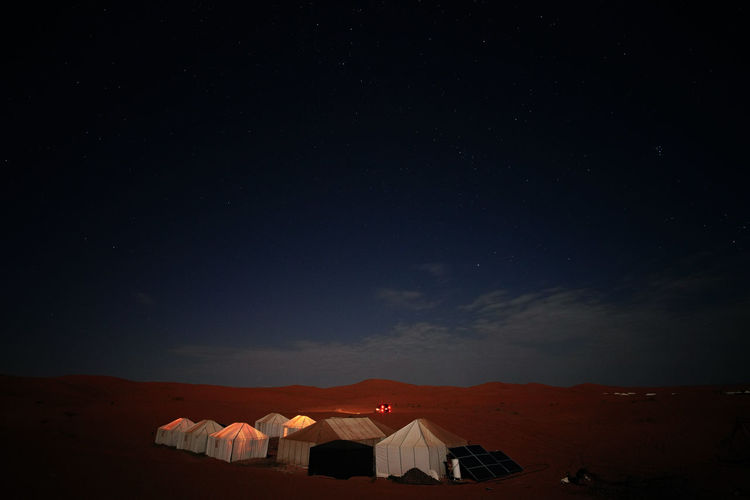 Our camp site in Merouga, Erg Chebbi Desert. Nature Sky Connect With Nature NOMAD Digital Nomad Africa Morocco 🇲🇦 Erg Chebbi Erg Chebbi Desert Travel Destinations Berber  Photography EyeEmNewHere EyeEm Nature Lover History Through The Lens  History Travel Photography Night Architecture Built Structure Star - Space No People Building Exterior Scenics - Nature Beauty In Nature Building Space House Illuminated Land Tent Mountain Camping Astronomy Landscape