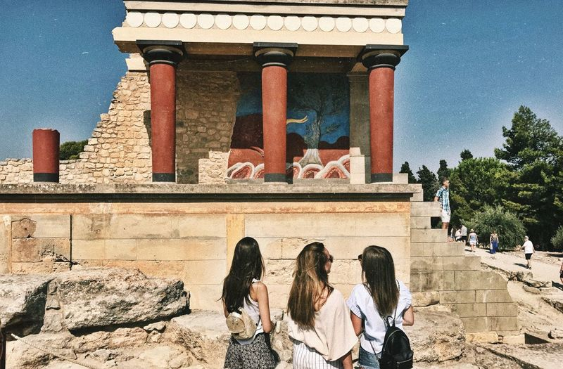Crete Knossos Travel Architecture Built Structure Day Outdoors Travel Destinations Togetherness An Eye For Travel Vacations