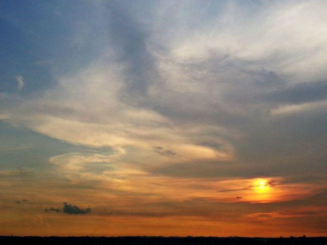 Sunset 020514 Cloud And Sky Sunset Sun! Sky
