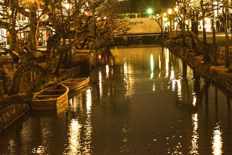 美観地区 Night River Boats Sightseeing Hello World Taking Photos Hi! Relaxing Enjoying Life
