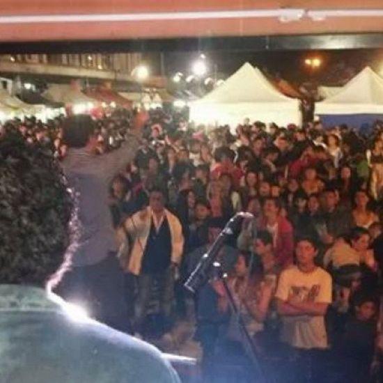 show de Una y Una Cumbia anoche n la fiesta de las colectividades! Exploto Ensenada! Gracias a todos! BAILANDOCONVOS