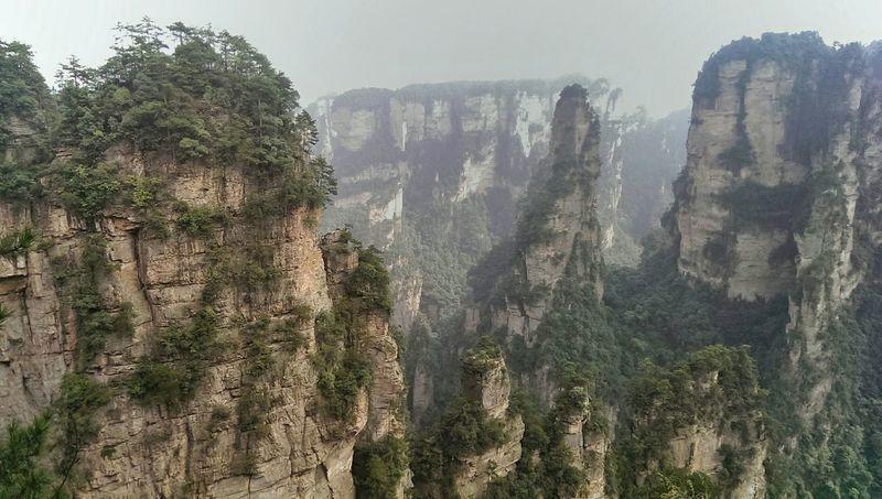 Grand View Mountains Nature Zhangjiajie
