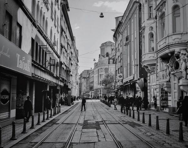 Bulgaria Sofia City Streetphotography Streetphoto_bw Blackandwhite Black & White Beautiful Photooftheday Nikon Nikonphotography Dark People Buildings