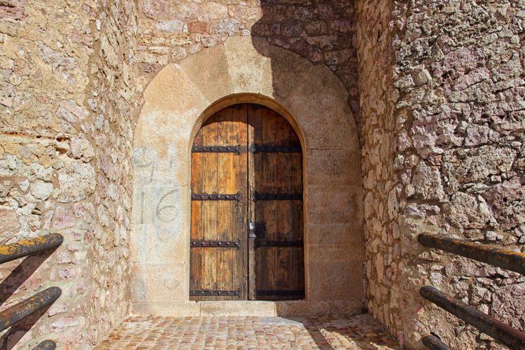 Arch Architecture Building Exterior Built Structure Day Door Doorway History No People Old Ruin Outdoors Travel Destinations