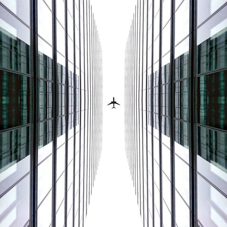 Symmetrical ✈ Flight. Germany Symmetrical Symmetry Architecture Architecturelovers Structures Art Design Minimal Minimalism Lines Facade Building Lookingup Lookup Cologne Plane Putaplaneonit