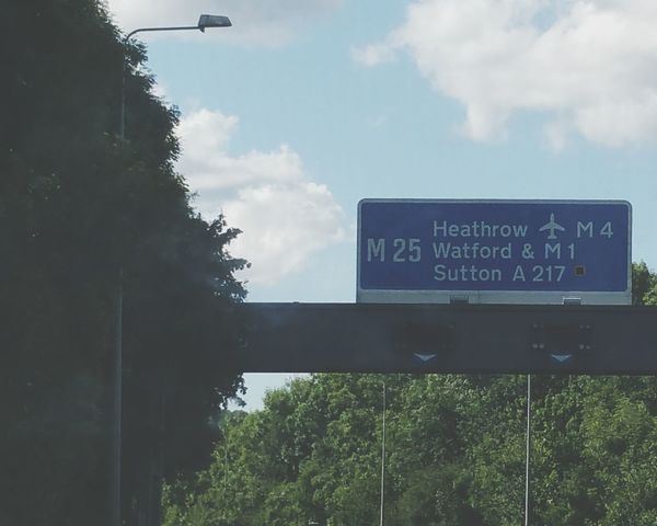 Sign Motorway