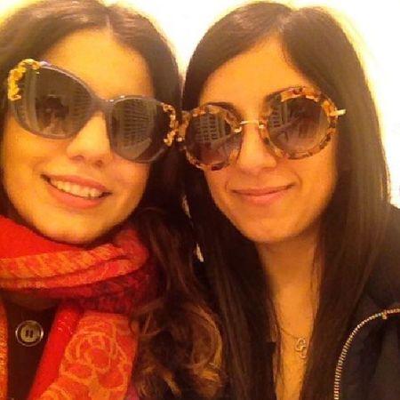 Kraliçe gözlüğünü buldum! @fragola_ Bff Selfie Dolceandgabbana  Miumiu marieantoinette rococo shades