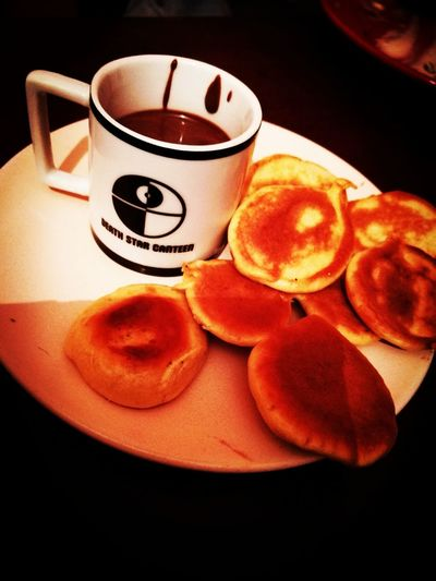 Pancake Time Nuttela Starwars Black And White Friday