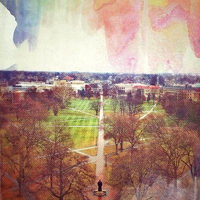 Color Texture Canvas Campus College Watercolor Ohio OSU Ohiostate Thisisohiostate Theohiostateuniversity