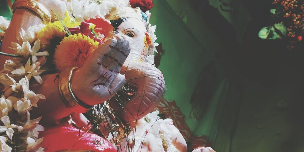 Ganpati Bappa Morya Ganesha Idol Chaturthi EyeEm Selects UnderSea Close-up Sculpture