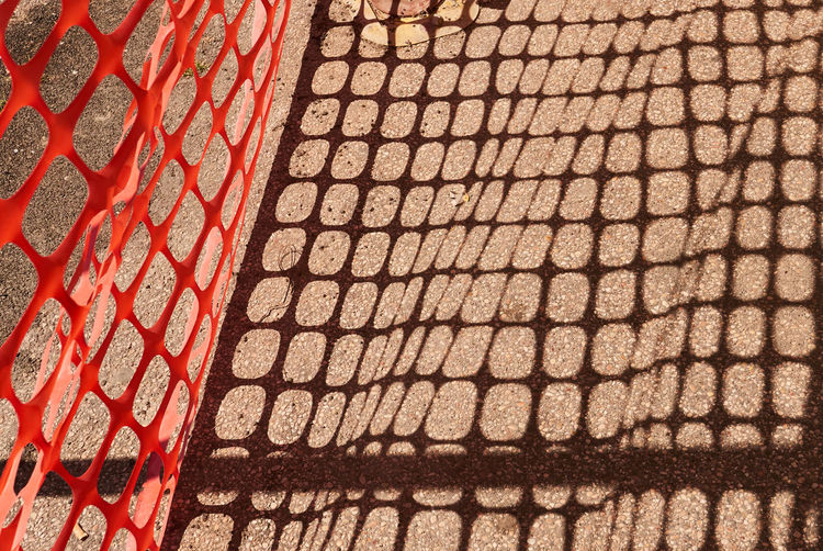 Pattern Shadow Day No People Sunlight High Angle View Full Frame Footpath Red Backgrounds Nature Outdoors Brown Architecture Brick Close-up City Metal Textured  Cobblestone Paving Stone Roof Tile Working Orange Color The Minimalist - 2019 EyeEm Awards