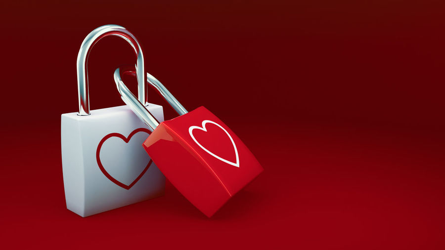 Love locks for