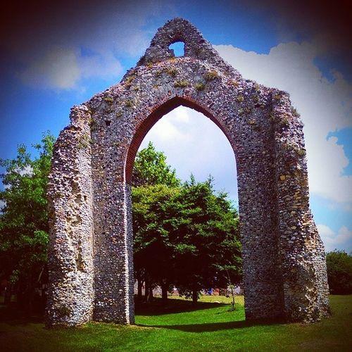 Wymondhamruins Wymondhamabbey Wymondham History old originalruins church summersday ancient photography lovelydayout