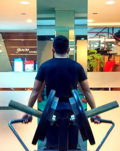 Workout done 💪🙌🏪 80% Nutrisi + 20% Olahraga Fitness Workout Gym Healthyactivelifestyle Slimfit  Slim Fit Fatforfit Ubsportcenter UB Malang