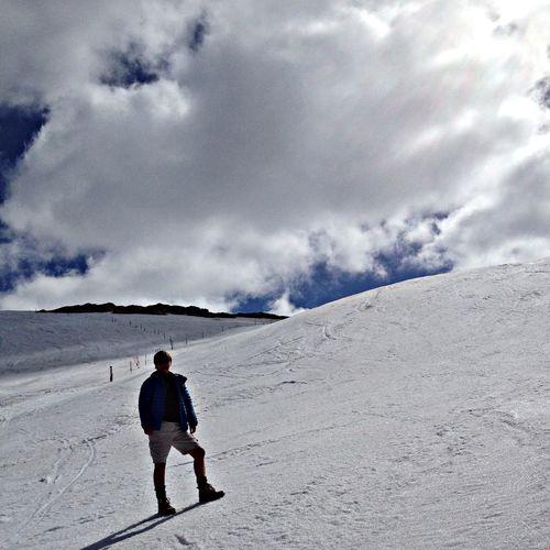 Glacier Nature Summer Mountains
