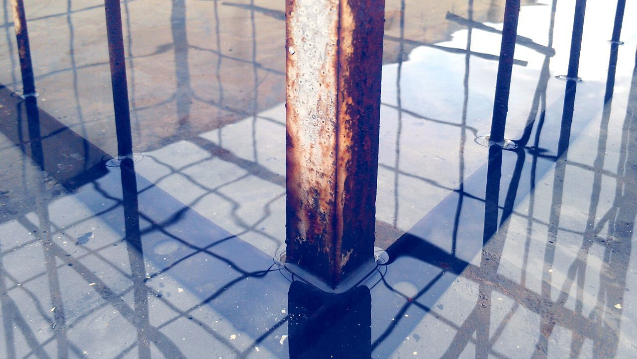 metal, indoors, no people, day, shadow, close-up, prison