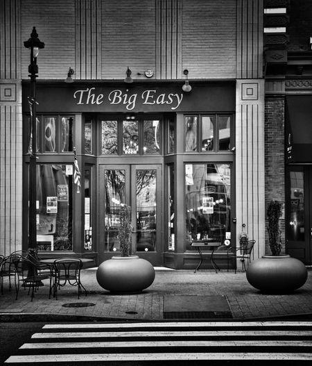 Cajun restaurant. Check This Out Blackandwhite Photography Blackandwhite Restaurant Cajun Nikon Nikonphotography Eyeemphotography EyeEm Best Edits Urban Urbanexploration City Cityscapes The Architect - 2016 EyeEm Awards